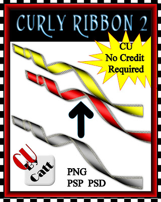 Curly Ribbon 2 - By: Catt's Scrapps CATT+CURLY+2+CU++PREVIEW