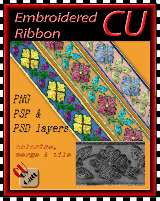 Embroidered Ribbon - By: Catt's Scrapps ER_CU_preview