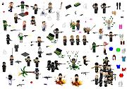A imagem a esquerda é o josephsk8 , são assesórios para Pixel Art. EX .