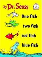 Picture of One Fish, Two Fish, Red Fish, Blue Fish by Dr. Seuss