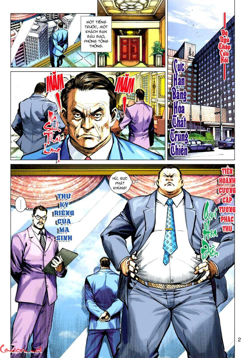 Vương Phong Lôi 1 chap 59 - Trang 2