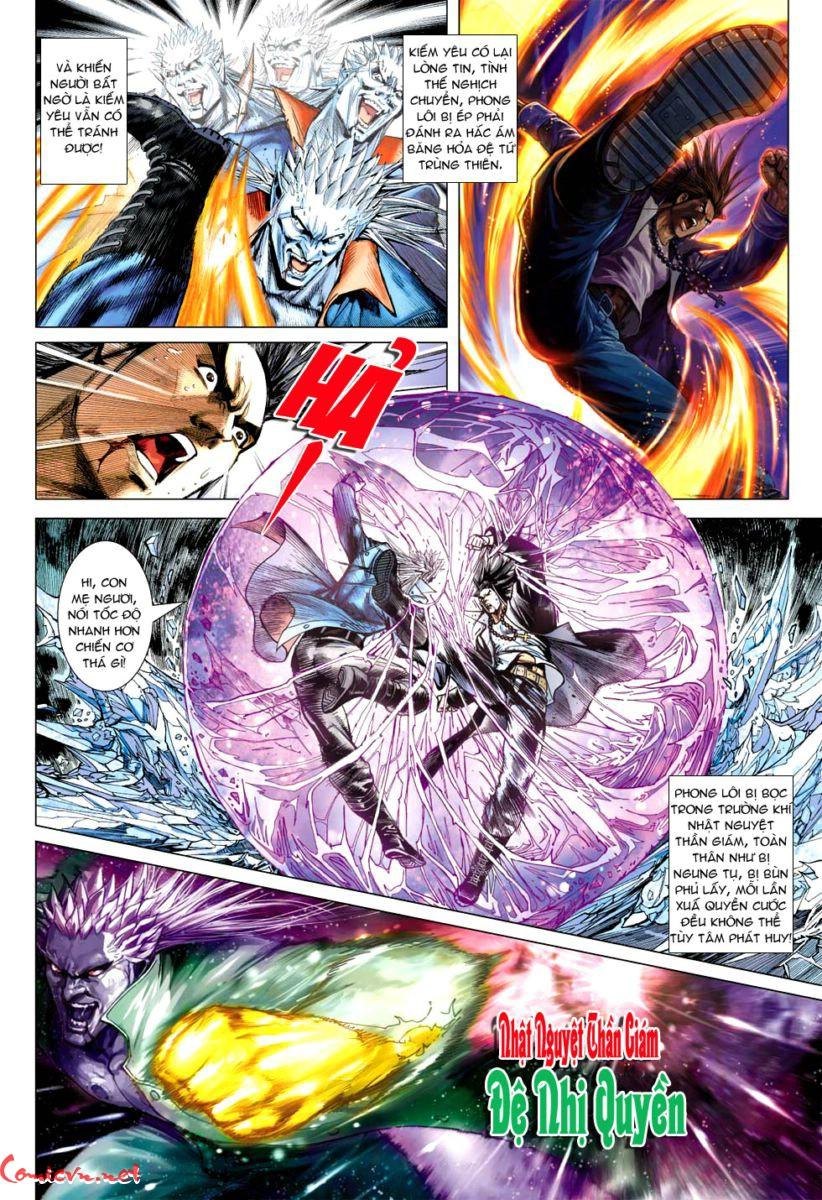 Vương Phong Lôi 1 chap 59 - Trang 10