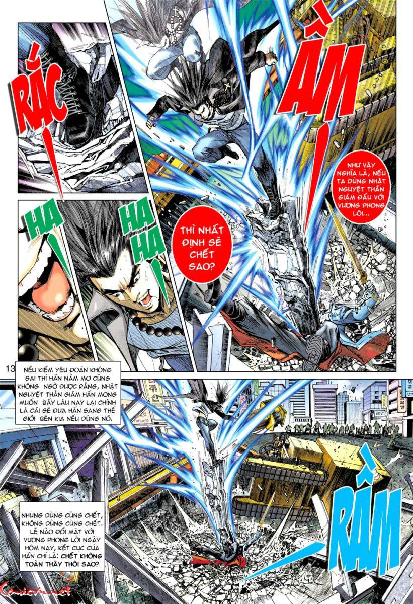 Vương Phong Lôi 1 chap 57 - Trang 12