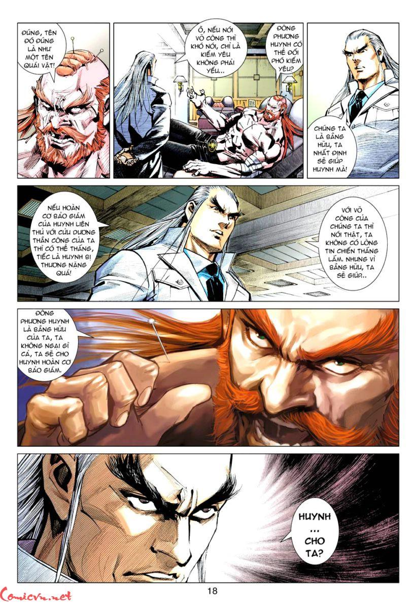 Vương Phong Lôi 1 chap 57 - Trang 17