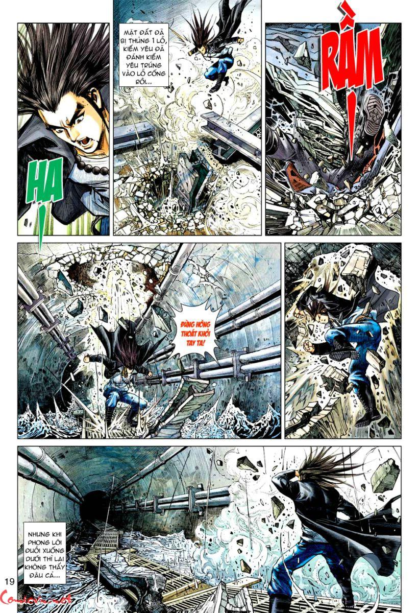 Vương Phong Lôi 1 chap 57 - Trang 18