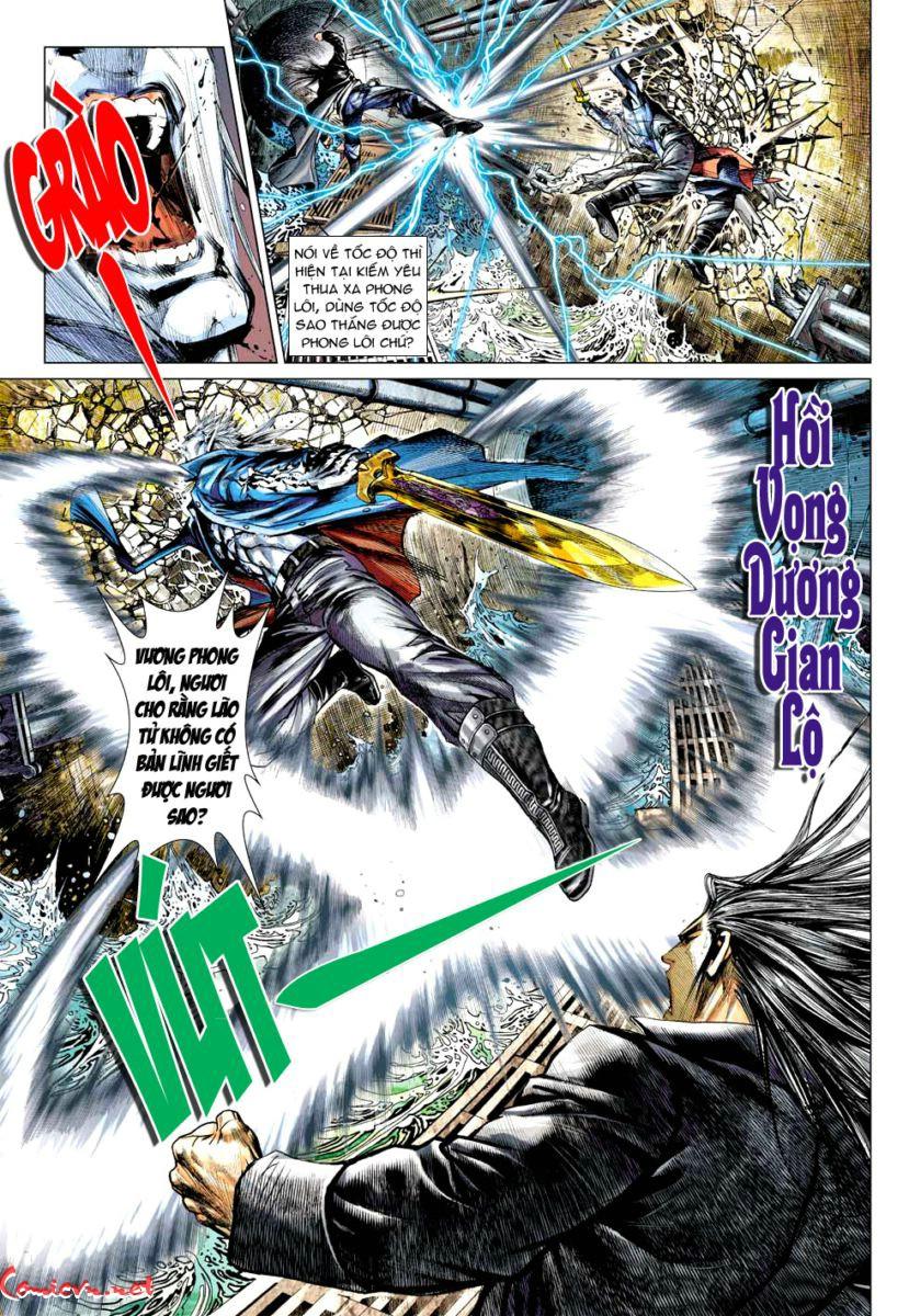 Vương Phong Lôi 1 chap 57 - Trang 22