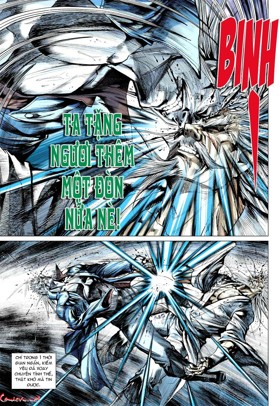 Vương Phong Lôi 1 chap 49 - Trang 24