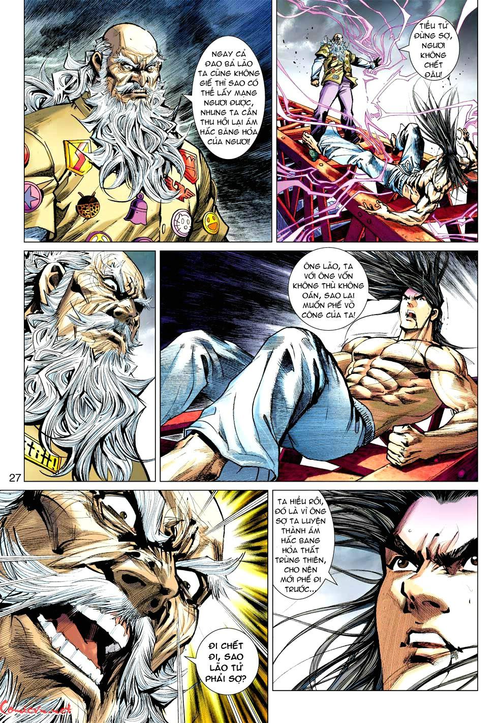 Vương Phong Lôi 1 chap 49 - Trang 28