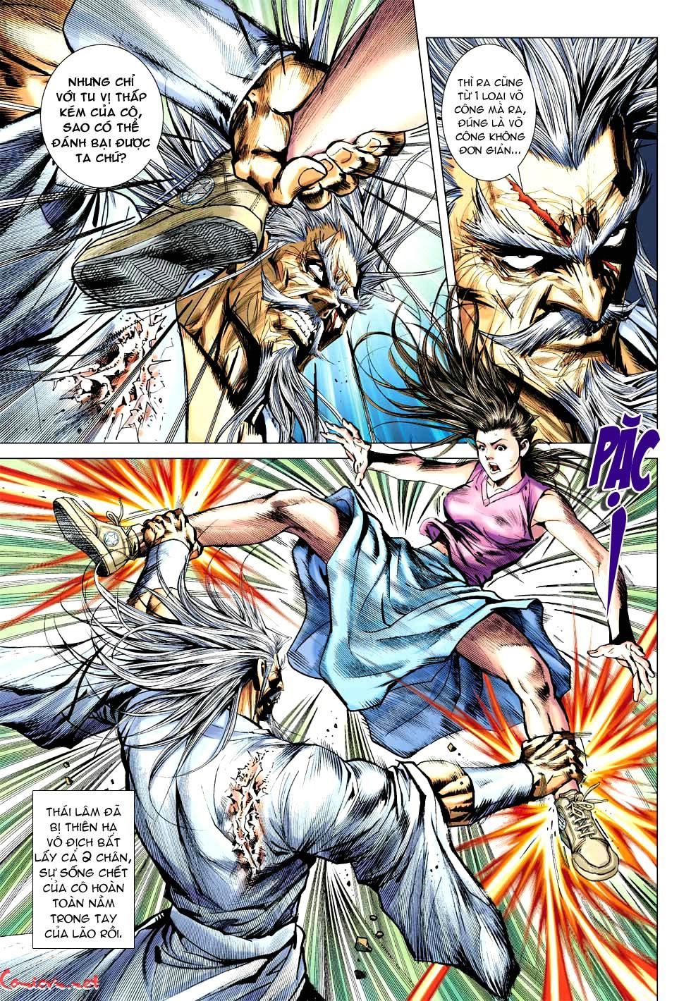 Vương Phong Lôi 1 chap 49 - Trang 14