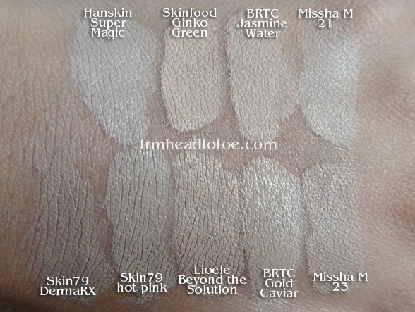 Huge Bb Cream Overview Reviews Amp Swatches From Head To Toe