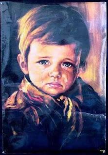 """""""El cuadro del niño llorón"""""""