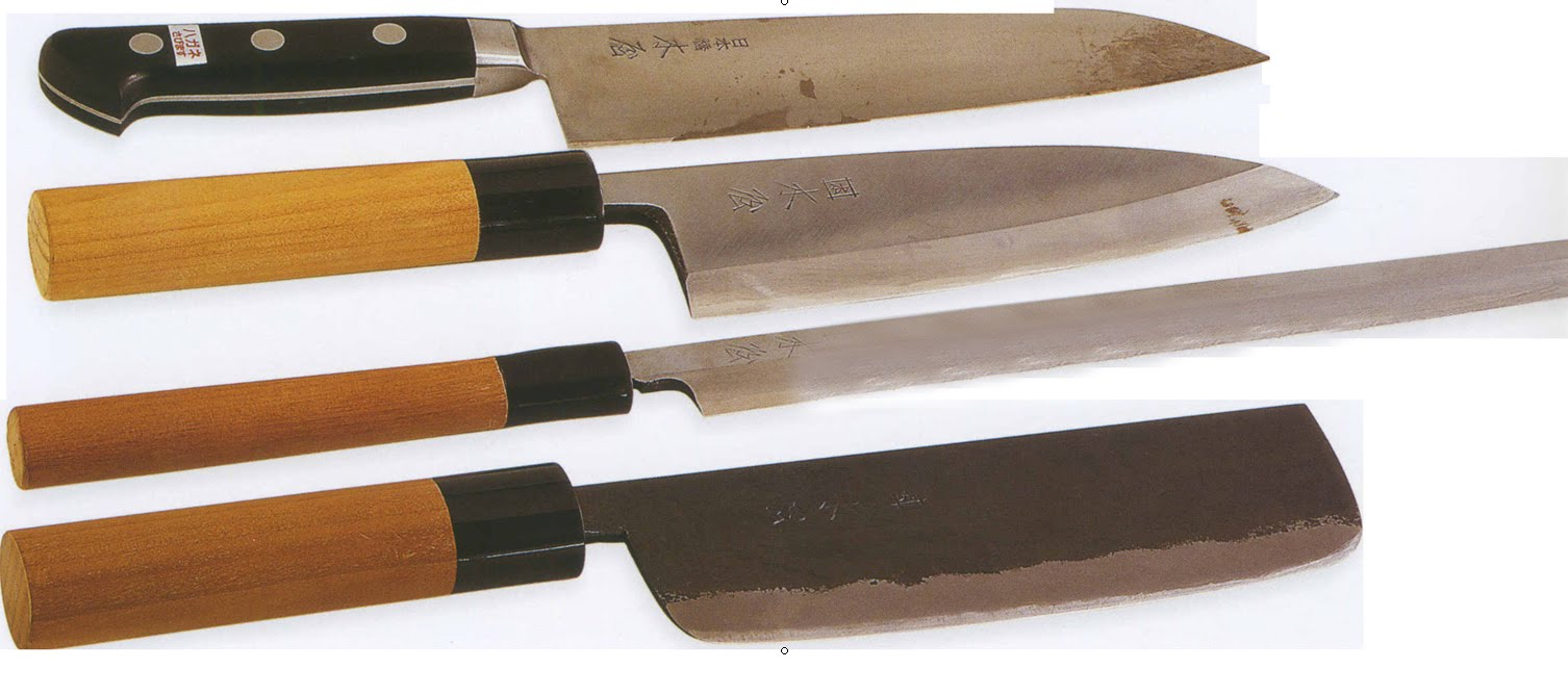 Sabores del mundo cocina japonesa utensilios - Juego de cuchillos de cocina ...