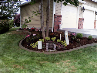 Concrete curbing and landscaping tacoma puyallup picture for Landscaping rocks tacoma
