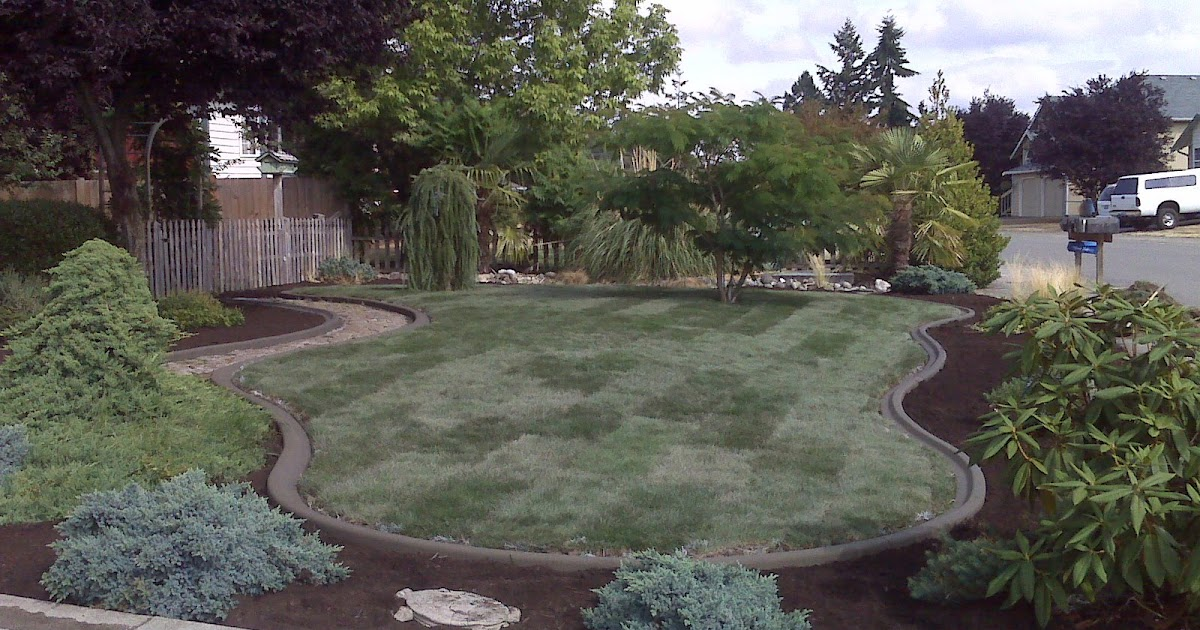 Landscaping Rocks Tacoma : Concrete curbing and landscaping tacoma puyallup picture gallery