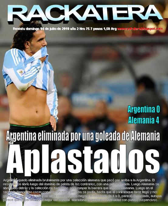 Argentina, no tiene sangre