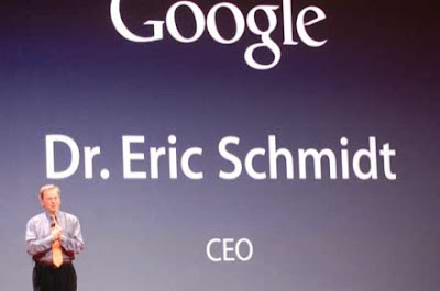 Eric Shmidt of Google Talks iphone