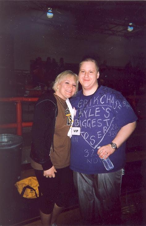 Myself and Liz Young from season 8