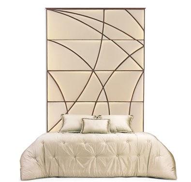 Cabecero alto para una cama con estilo - Cama en alto ...