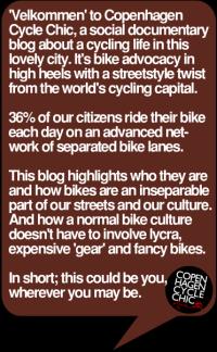 Velkommen til Copenhagen Cycle Chic