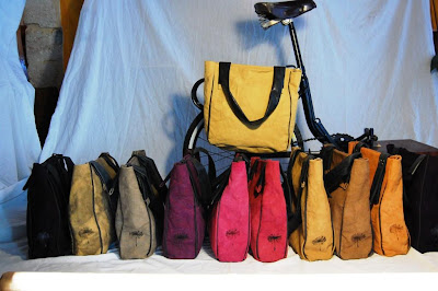 Ortigiano Bicycle Bags from Sicily