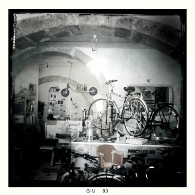 Ortigiano Bicycle shop in Siracusa