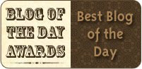 Blog of the day award Posted: 16 Feb 2009