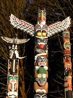 totem+pole Parrots and Art: Parrot Totems