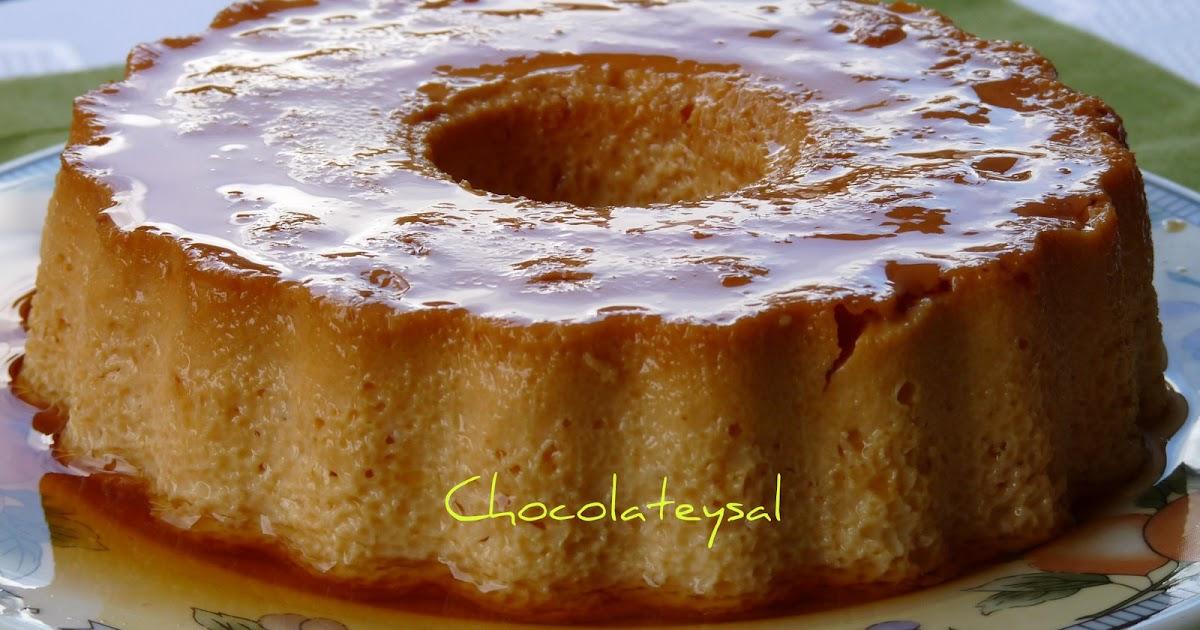 Chocolateysal flan de huevo - Flan de huevo al bano maria en olla express ...