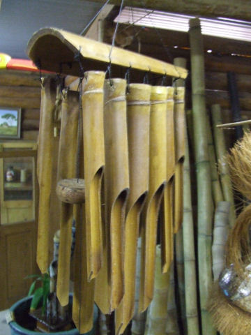 Back to bamboo bamboo wind chimes for Things you can make with bamboo