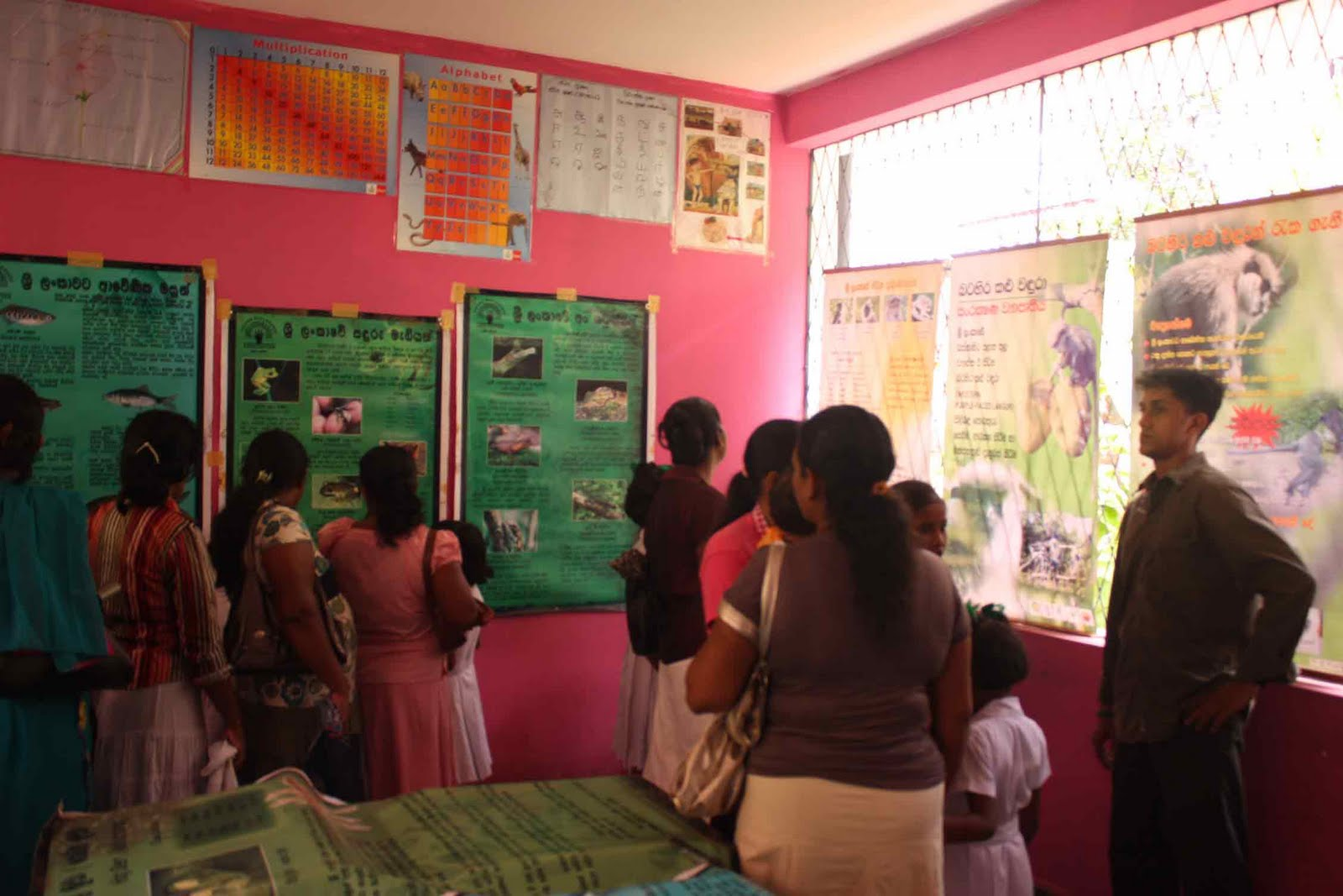 Education Exhibition Stall : Exhibition at the agamathi balika maha vidyalaya panadura