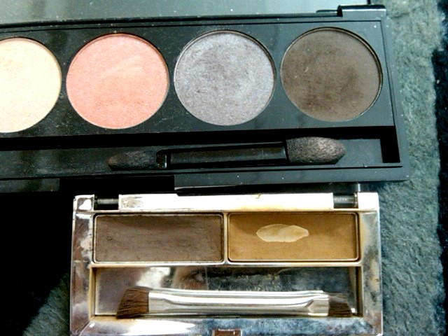 Any eyeshadow color that is a few shades lighter than your hair color (for
