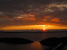 Solnedgang fra Storsjøhaugen