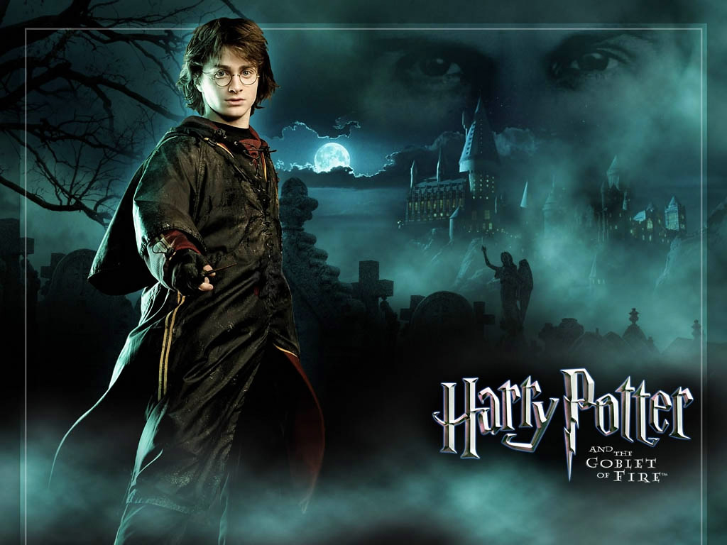 WE ARE WATCHING HARRY POTTER AND THE GOBLET OF FIRE IN CLASS, THIS IS ...