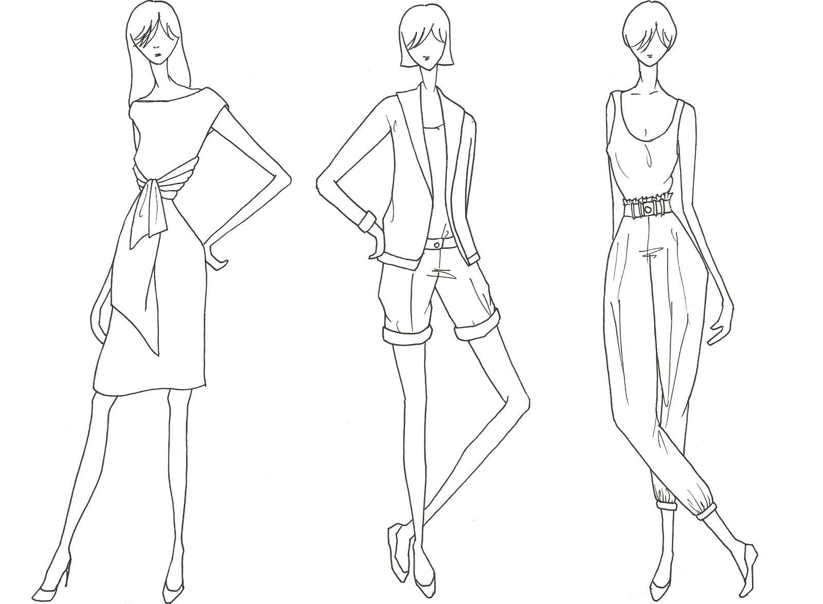 mutinee: Fashion Figure Drawing of mine: mutinee-dumpling.blogspot.com/2010/08/fashion-figure-drawing-of...
