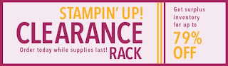 stampin up clearance