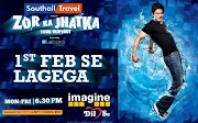 Shah Rukh Khan's upcoming show in the UKZOR KA JHATKATotal Wipeout (srk jkj total wipeout)