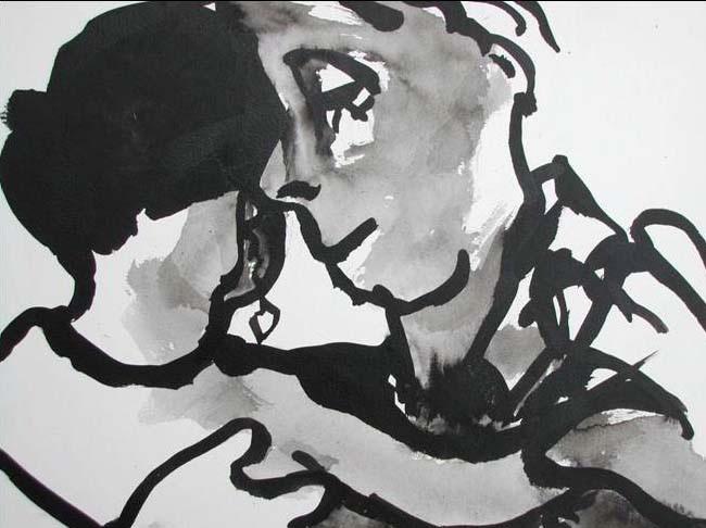 Peinture: Elisabeth Braure