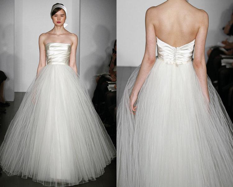 Wedding Dresses With Tulle : Ellenor industries tulle wedding dresses