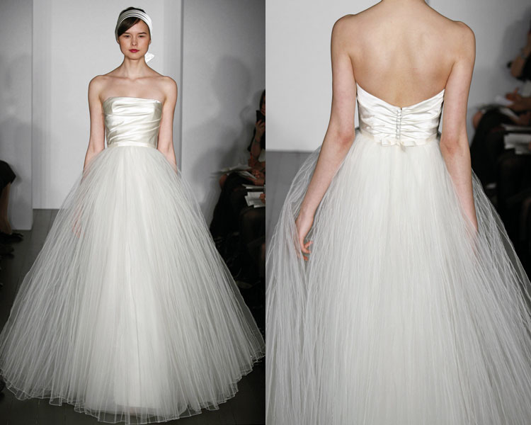 Ellenor industries tulle wedding dresses for How to make a tulle wedding dress