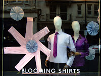 Spring window display in Jermyn St