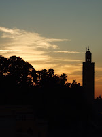 Sunset over Koutoubia Mosque