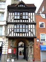 Gateway to St Bartholomew's the Great