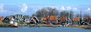 Marken form the harbour