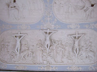 Early plaster reliefs