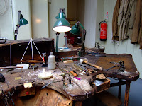 Jeweller's workbench