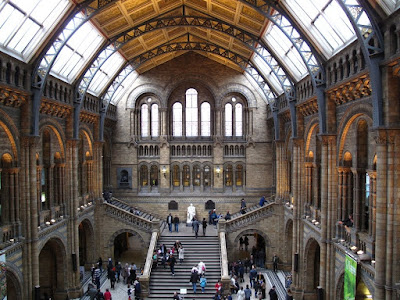 inside Natural History Museum