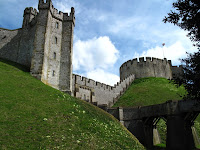 The original 11th century part of Arundel Castle