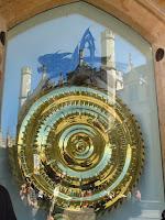 Grasshopper clock - Corpus Christi