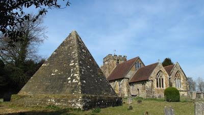 Mad Jack's mausoleum at Brightling