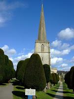 Painswick churchyard yews